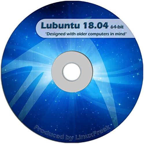 Lubuntu Linux 18 04 DVD FAST Desktop Live DVD Official 64 bit Release product image