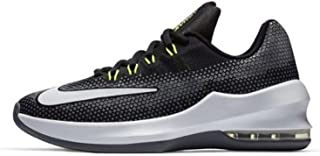 Nike Boy's Air Max Infuriate (GS) Basketball Shoe Black/White/Volt/Cool Grey Size 5.5 M US