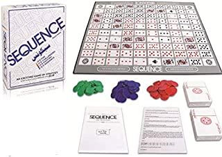 Sequence Board Game Suitable For 2-12 players Family Game