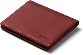 Bellroy Leather Passport Sleeve Wallet (Max. 4 Cards, Passport, and a Pen) - Red Earth