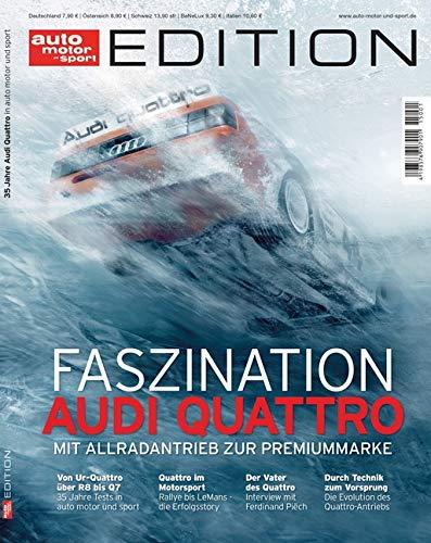 auto motor und sport Edition - Audi Quattro: Mit Allradantrieb zur Premiummarke
