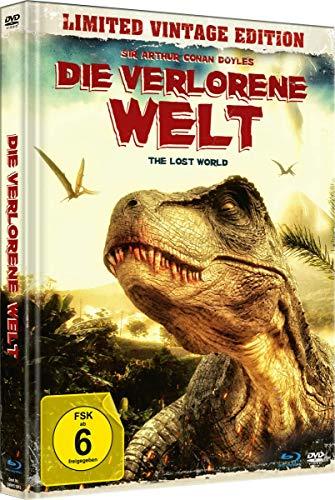 Die verlorene Welt - The Lost World (Uncut Limited Vintage Mediabook mit Blu-ray+DVD, in HD neu abgetastet)