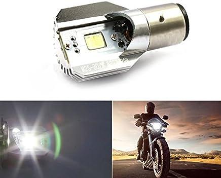 Studyset Headlights H6 BA20D DC 12V-80V 12W COB LED Motorcycle Bike Beam Headlight Bulb Strong Light