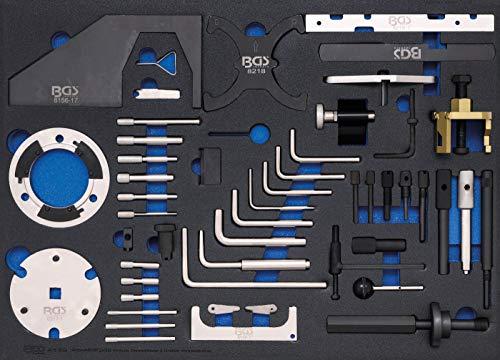 BGS 4139 | Werkstattwageneinlage 3/3: Motor-Einstellwerkzeug-Satz | für Ford, VW, Seat, Mazda, Volvo