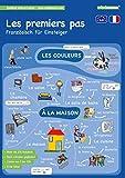 mindmemo Lernfolder - Les premiers pas - Französisch für Anfänger Wortschatz mit System spielend lernen für Kinder Vokabeln mit Bildern Lernhilfe PremiumEdition foliert DIN A4 6 Seiten Hefter
