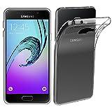 ebestStar - Funda Compatible con Samsung A3 2016 Galaxy SM-A310F Carcasa Silicona, Protección Crystal Clear TPU Gel, Ultra Slim Case, Transparente [Aparato: 134.5 x 65.2 x 7.3mm, 4.7'']