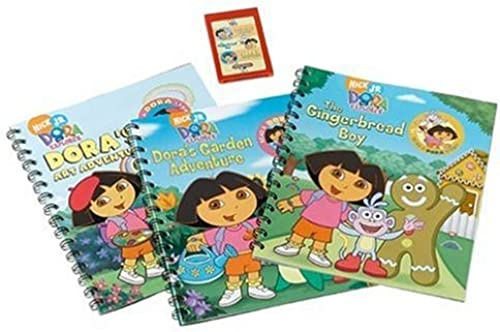 Story Reader Dora the Explorer 3 Book Pack