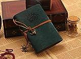 Quaderno a spirale Diario Libro Vintage Pirate Anchors Pu Leather Note Book Diario regalo natalizio sostituibile