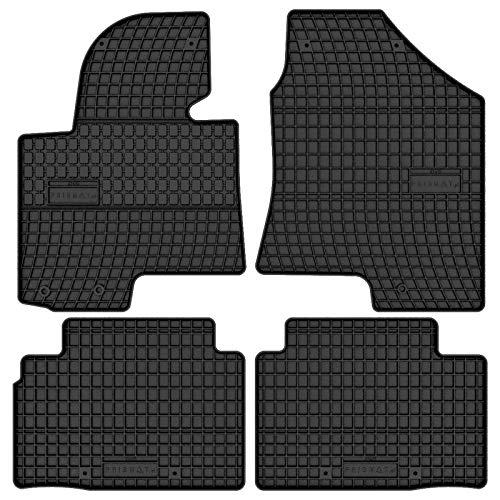 Prismat Gummimatten Gummi Fußmatten Satz für Hyundai ix35 (2009-2015) und Hyundai Tucson (2009-2015) - Passgenau
