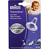 Braun 40 X Replacement Lens Filters Probe Covers For Thermoscan Thermometer 6520