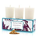 Seda France Classic Toile Votive Candles, Japanese Quince, 2 Ounce
