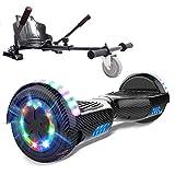 MARKBOARD Self Balancing Scooter 6.5'Hover Scooter Board Elektro Scooter Skateboard - Eingebaute Bluetooth Lautsprecher Hoverkart Gokart