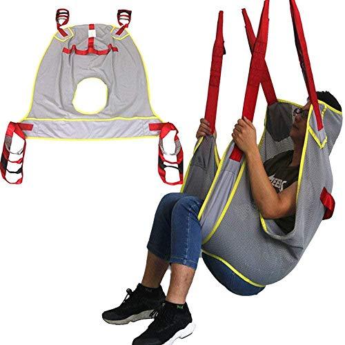 QBWASY Cinturón de Transferencia médica de elevación,Paciente Cinturón De Transferencia para Bariátrico, Enfermería,Anciano, Discapacitado, Cuerpo Completo Y Postrado En Cama