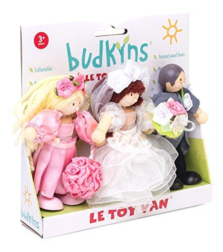 Le Toy Van- Mariés Budkins Jouet, BK911