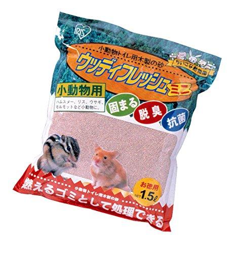 アイリスオーヤマ『小動物トイレ用木製の砂 ウッディフレッシュミニ』