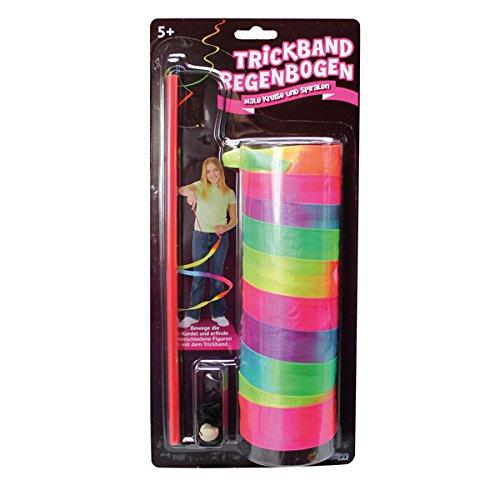 Toysmith 12169 - Trickband Regenbogen, bunt