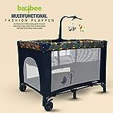 Baybee Pack N Play Baby playpen Playard - Cradle for Baby Smart Folding