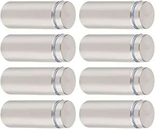 Pack of 5 Female Stainless Steel 0.5 OD 2.125 Length, 1//4-20 Screw Size Round Standoff