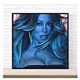 CTONG Mariah Carey Vorsicht Musikalbum Cover Poster Druck