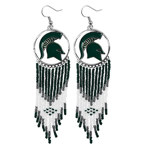 Littlearth NCAA Michigan State Spartans Dreamcatcher Earring