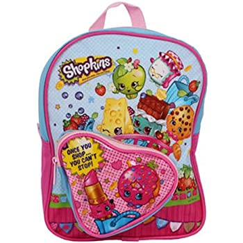 Shopkins Mini Backpack with Heart Shaped Fron | Shopkin.Toys - Image 1