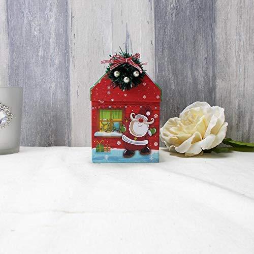 Kleines Wellness Set in Knusperhäuschen, Wichtelgeschenk, Kleines Weihnachtsgeschenk