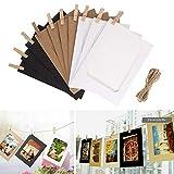 Angoter 58pcs Fleurs Vintages Vélin Autocollants Papier pour Le Scrapbooking Projets de Carte Photo Album...
