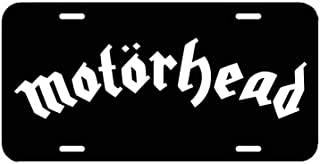 Happylicenseplateframeaa Motörhead License Plate, Car Tag, Vanity Plate, Auto Tag, Fantasy Decor.