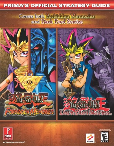 Yu-Gi-Oh! Dark Duel Stories (GBC) and Forbidden Memories (PSX) (Prima