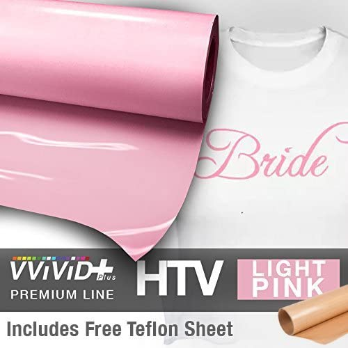 VVIVID+ NEW before selling Pink Premium Line Heat Transfer 12