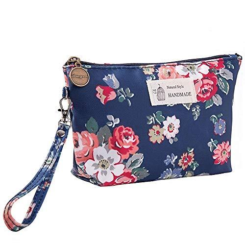 LYX Sac de rangement cosmétique de bâche imperméable directe imprimé dames embrayage portable sac de lavage imperméable à l'eau de voyage approprié for la maison et le stockage de voyage