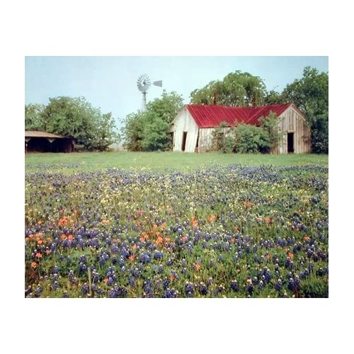 OLD BARN LANDSCAPE Poster ART FABRIC HD PRINT Wall Decor