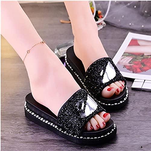 Zapatillas De Casa para Mujer Baratas,El Verano Femenino USA La Moda...