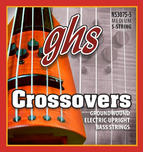 ghs NS 3075-5 Crossovers Upright Bass (5-String)