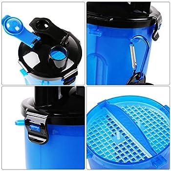RCruning-EU Bouteille d'eau pour Chien Portable Distributeur d'eau Gamelle pour Chien Pliable pour Chien Chiot Chat