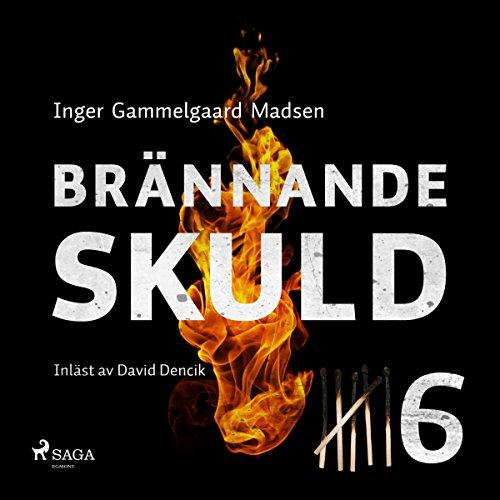 Brännande skuld 6 audiobook cover art