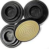 地震対策用インシュレーター スーパーセーフティインシュ UP用 (黒)