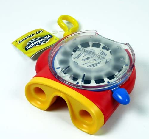 View-Master 3D New El Paso Mall color Viewer - Red