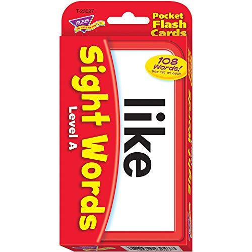 """トレンド フラッシュカード 目で見て学ぶことば レベルA 英単語 カードゲーム T-23027 """"3.1"""""""" x 5.3"""""""""""""""