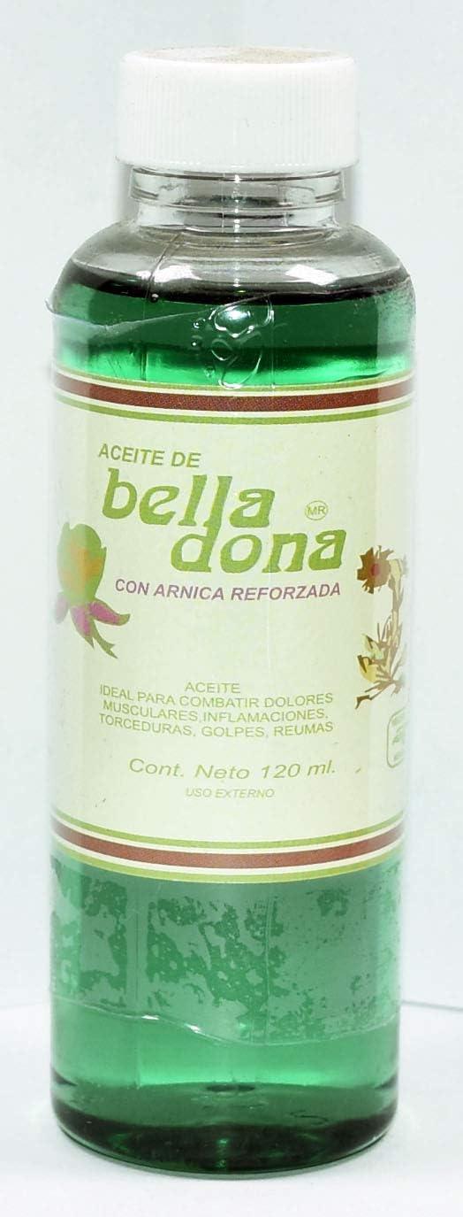 3 Bottles ANAHUAC Oil Translated Arlington Mall ACEITE Arnica 4.05 REFORZADA BELLADONA CON