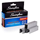 Swingline Staples, Heavy Duty, 5/8' Length, 20-120 Sheet Capacity, 100/Strip, 2500/Box, 1 Pack, Light Touch (90009)