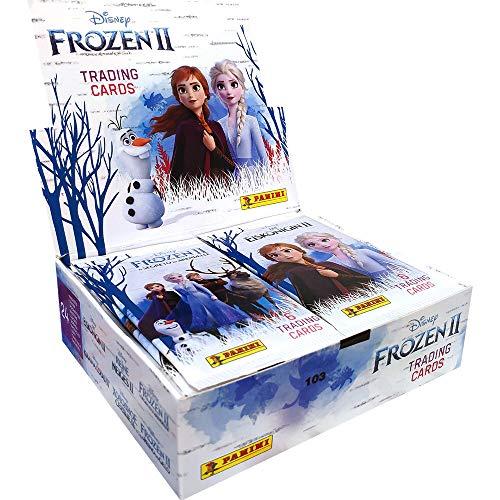 Panini Disney Eiskönigin 2 Trading Cards - Display mit 24 Tüten = 144 Karten