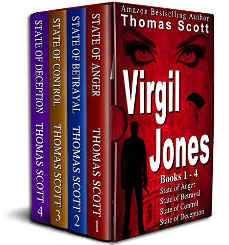 The Virgil Jones Mystery Thriller Books: An Unputdownable Suspense-Filled 4 Book Bundled Boxed Set: The First Four Books of the Virgil Jones Series