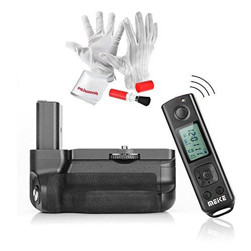 Meike-mk-a6300Pro empuñadura de batería con 2,4G mando a distancia inalámbrico, Pergear Kit de limpieza y Magic pegatinas para Sony A6300