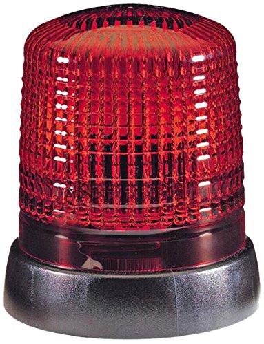 HELLA 2RL 008 064-001 Rundumkennleuchte - KL 7000 - 230V - Lichtscheibenfarbe: rot - geschraubt