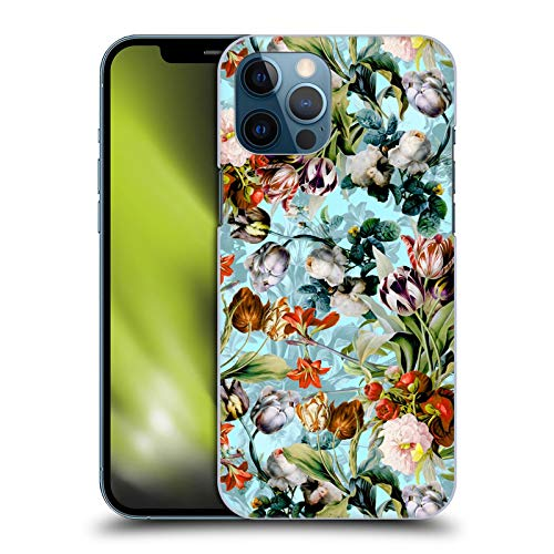 Official Burcu Korkmazyurek Summer Botanical VI Floral Hard Back Case Compatible for Apple iPhone 12 Pro Max