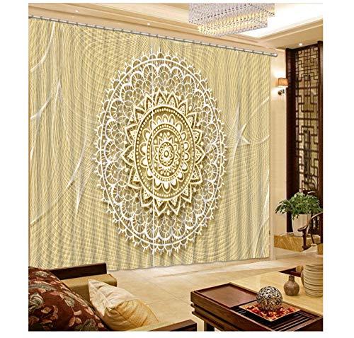 cortinas salon blancas baratas