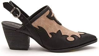 Matisse Womens Long Road Western Mules Cowboy Booties