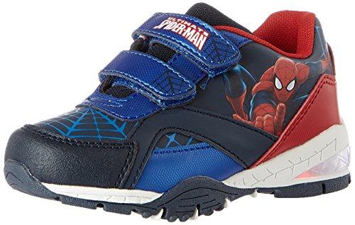 Spiderman SP004385, Baskets Garçon, Bleu (Navy/L.Navy/C.Blue/Navy/Red 718), 33 EU