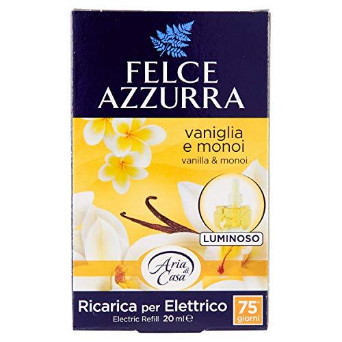 Felce Azzurra Aria di Casa Elettrico Ricarica Vaniglia E Monoi, 20 unità